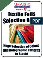 76432025 Textile Foils Selection Guide Amagic Holograhics v1201