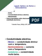 Metais e Semicondutores