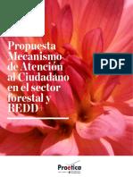 Propuesta Mecanismo de Atención al Ciudadano en el sector forestal y REDD+