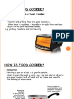 HOW is FOOD COOK (Conductionandconvection)