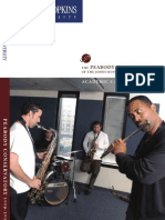 Peabody Conservatory Catalog 2009-10