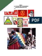 Peru Futuro Dela Izquierda Por Jose Justo Calderon 11febrero2013