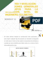 Sesión 13-Nivel de Ingeniero