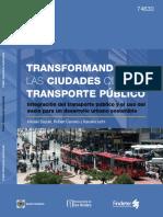 Transformando Las Ciudades Con El Transporte Publico