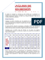 Analisis de Regresión Bivariable