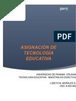 ASIGNACIÒN- TECNOLOGÍA EDUCATIVA