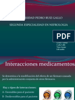 Interaccion Medicamentosa y Reacciones Adversas