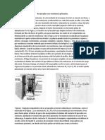 Arrancador Con Resistores Primarios