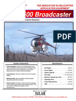 Model - Hughes Model 369MD500 Series Helicopters Spray System