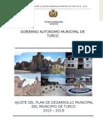 Plan de Desarrollo Municipal de Turco 2015