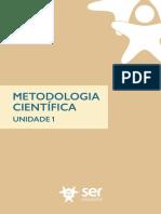 Unidade1 PDF Metodologia Científica