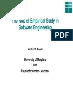 Basili-Role of E in SE Irvine