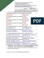 Examen Calculo Integral 01 Adriano 19092017