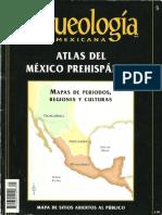 Arqueologia  Mexicana. Atlas del México Prehispánico.  Edición especial Nº 5..pdf