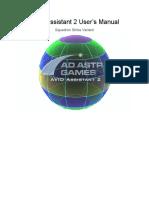 AVID Assistant 2, User's Manual