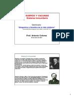 SUEROS Y VACUNAS Sistema inmunitario