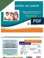 Programas de prevención en salud