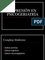 Depresion en Psicoeriatria