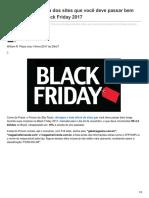 Hardware.com.Br-Procon Divulga Lista Dos Sites Que Você Deve Passar Bem Longe Durante a Black Friday 2017