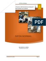 Sifon Normal