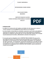 Diapositiva de Plan de Emergencia