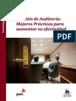 Efectividad Del Comite de Audiotoria Baja