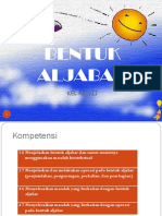 PPT ALJABAR