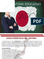 Diapositivas Sistema Educativo Japón
