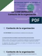 Contexto de La Organizacion