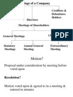 5. Meeting & Resolutions