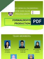 Formaldehyde Production Safety Slide