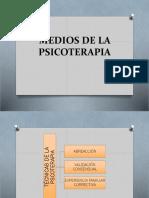 1.3) Medios de La Psicoterapia