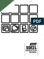 Manual for Esu v Sse2l