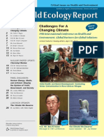World Ecology Report 2010 Summer Fall Vol XXII No 2 3