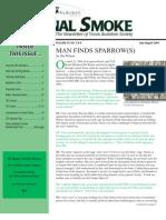 July-Aug 2006 Signal Smoke Newsletter Travis Audubon Society