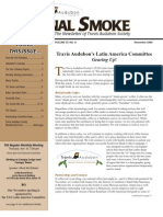 November 2006 Signal Smoke Newsletter Travis Audubon Society