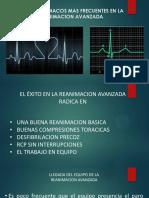 Ritmos Cardiacos Mas Frecuentes en La Reanimacion Avanzada