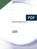 IBM SPSS Statistics Base
