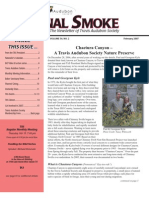 February 2007 Signal Smoke Newsletter Travis Audubon Society