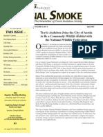 April 2007 Signal Smoke Newsletter Travis Audubon Society