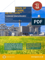 Visual Flame Detection Turbine Enclosures