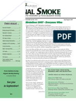 July-Aug 2007 Signal Smoke Newsletter Travis Audubon Society