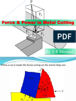 Ch-2 Force & Power in Metal Cutting