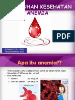 Ppt Penyuluhan Anemia