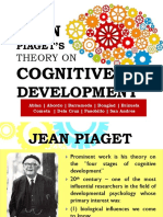 Group 1 Theory on Cognitive Devt Jean Piaget