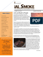 Sept-Oct 2008 Signal Smoke Newsletter Travis Audubon Society