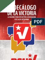 Decálogo de La Victoria Web