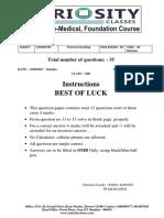 Weekly Test_ Chemistry(III) - Copy