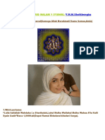Amalan Wirid-wirid 1 Syawal-Y.M.M.Sheikhengku