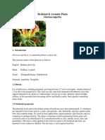 Medicinal Aromatic_Medicinal & Aromatic Plants